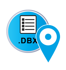 Outlook DBX Locator