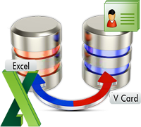 Convert Excel contacts to vCard format