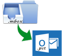 Convert MBOX Files into Outlook PST File Format