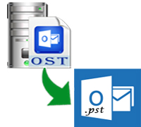 Convert Inaccessible OST File to PST