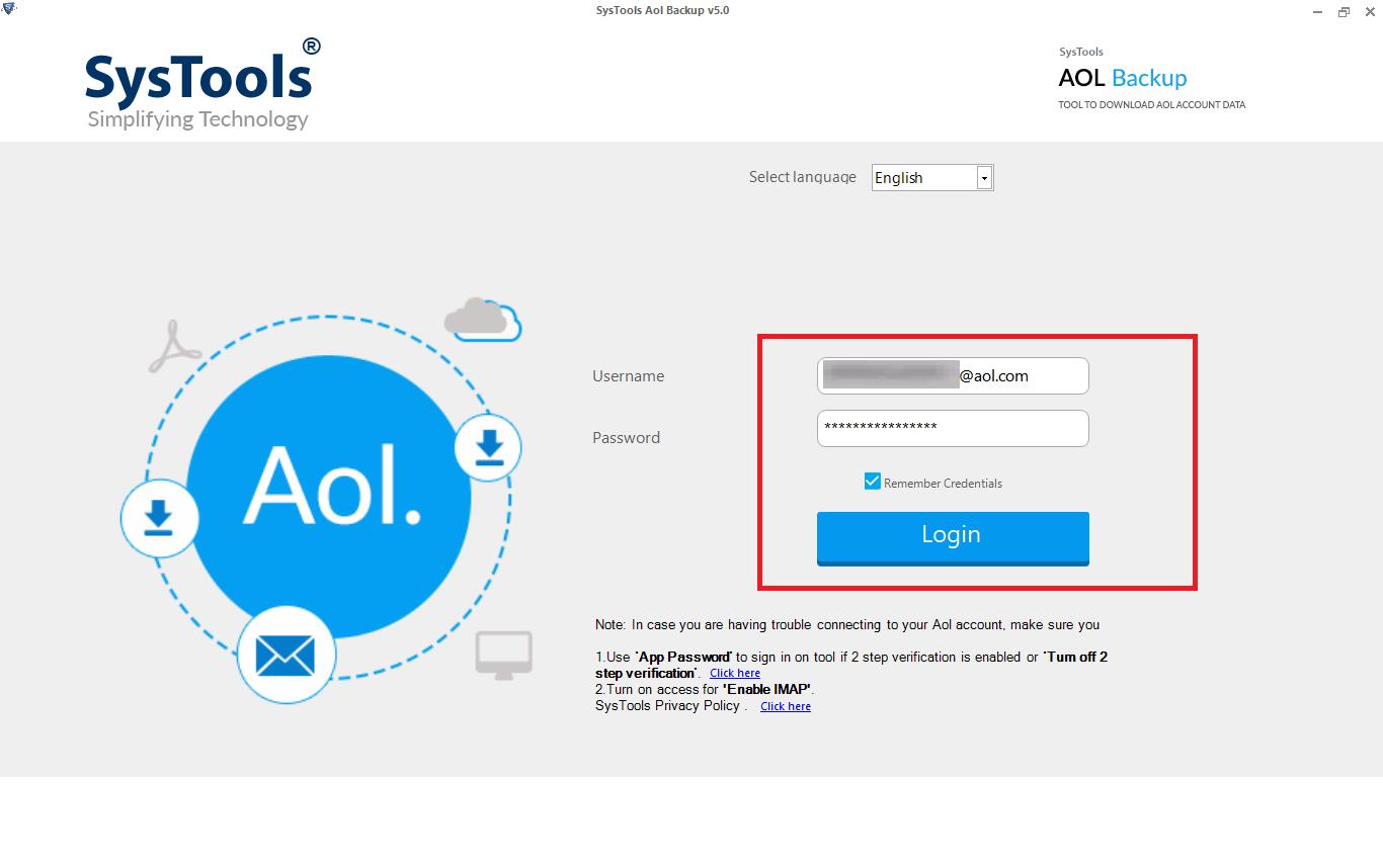 AOL Backup