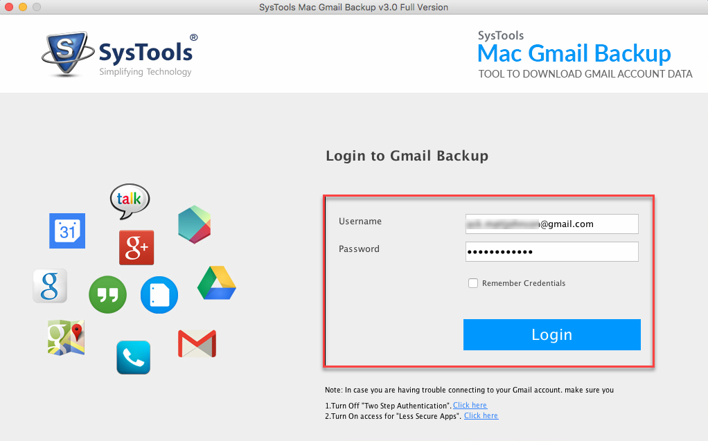 Mac Gmail Backup Software