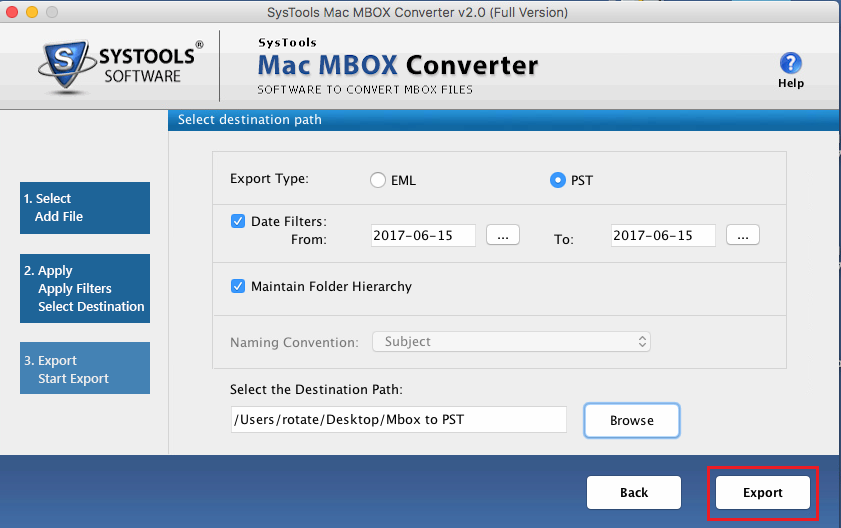 mbox to pst converter tool  u2014 convert mbox into outlook pst